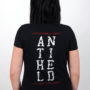 "Girlie-Shirt ""Antiheld"" Back"